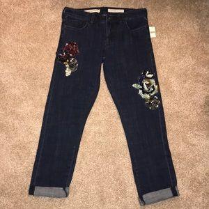 Anthropologie Pilcro Slim Boyfriend Jeans